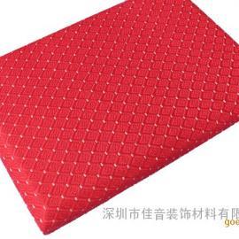吸音系数*高的吸音材料是深圳佳音吸音软包,质优价低.