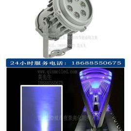 供应6颗3W大功率LED圆形聚光投射灯/聚光投墙灯