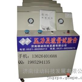 济南绿动CNG气体压力及流量试验台