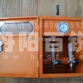 氧气、丙烷\乙炔带配气器集配器气体工位箱