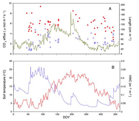 SCG-BTC原位土壤CO2与根系动态观测系统