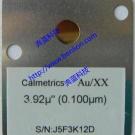 美国Calmetrics 镀层标准片 膜厚标准片