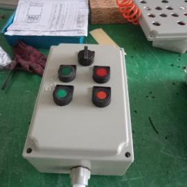 防爆操作柱BZC53-D2K1GD 两灯一开关防爆操作柱