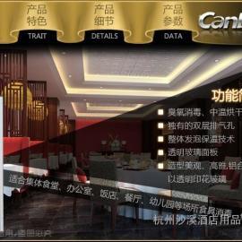 浙江康宝 单门中温立式大容量消毒柜 酒店餐厅食堂碗柜正品