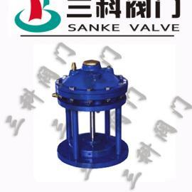 JM742X隔膜式池底排泥阀(三科牌)