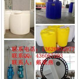 带搅拌机的加药桶 各种规格加药桶耐酸碱 防腐加药桶出厂价