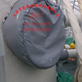 可拆卸式LNG系统保冷工程LNG保温衣LNG可拆卸式保温套,