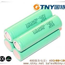 【GT18650ICR2S2P】7.4伏4400毫安锂电池