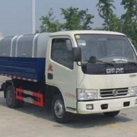 供应批发东风小型自卸式垃圾车/密封式垃圾车采购价格