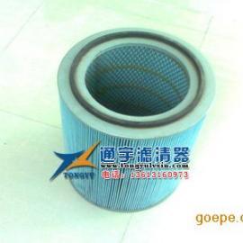 覆膜聚酯可水洗3266除尘滤芯 卡盘除尘滤筒