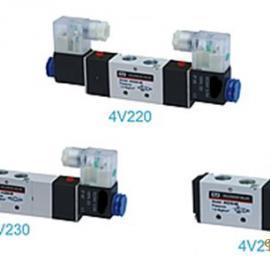 4V200系列�磁�y ��� 二位、三位五通 接口螺�y
