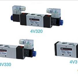 4V310 ,4V320二位五通 ,4V330三位五通�磁�y 接口螺�y1/4 3/8