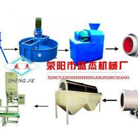 复合肥设备生产线购买需要注意的事项-盛杰机械提供