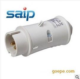 厂家直销2P防水插头 50V 工业插头 2芯 低压插头