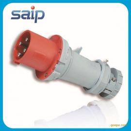 赛普供应 接插装置 工业电源插头 防水工业插头 IP44