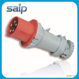 厂家直销 5P 63A 防水工业插头 公母插头 欧式插头