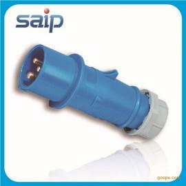厂家直销 32A 电缆插线接头 工业插头 防水插头