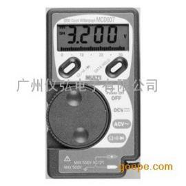 日本万用MCD-008袖珍数字万用表MCD009