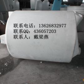 3立方塑料锥底加药箱 防腐加药箱厂家 潍坊水处理加药箱耐老化