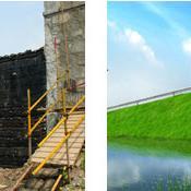生态袋护坡生态绿化工程