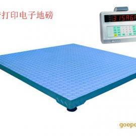 带打印电子地磅,带打印电子秤价格,上海电子平台秤厂家