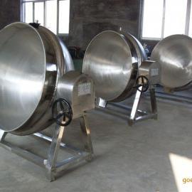 300L全钢可倾蒸汽夹层锅
