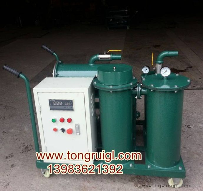 轻便式加热型滤油车(三级过滤、加油抽注)