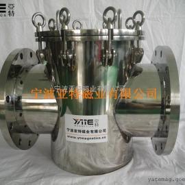 纸浆除铁器, 浆料除铁器, 流体管道除铁器, 液体除铁器