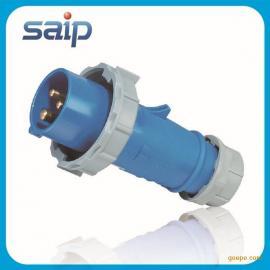 厂家直销3P 32A三芯防水插头 防水工业插头 电缆插头