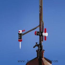 Brand棕色自动回零滴定管,50mL Br22334