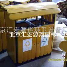 奥运木条垃圾桶