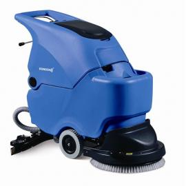 无锡常州大型工厂用自走式电瓶洗地机 容恩自动洗地机常州
