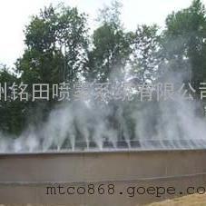 高压喷雾除臭设备喷雾除臭系统空气加湿设备