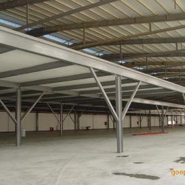 钢构厂房防腐翻新施工方案