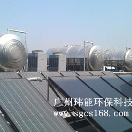 承接宾馆学校工厂的太阳能热水工程 平板太阳能集热器