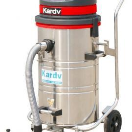 凯德威大功率推吸两用工业吸尘器 常州地面清洁用吸尘器
