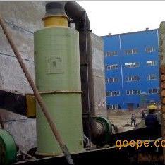 锅炉烟气净化选用湿式玻璃钢脱硫除尘器