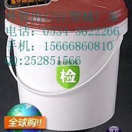开口5L塑料桶