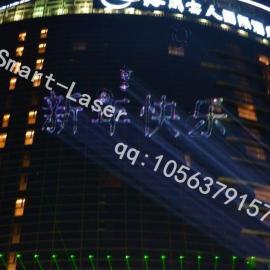 户外激光投影广告