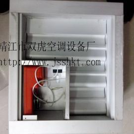 单层电动机构防雨防沙百叶窗