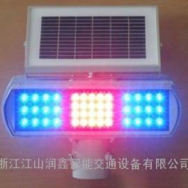 昌都县太阳能爆闪灯交通警示灯价格