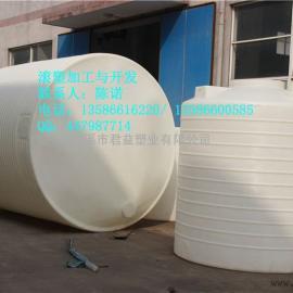君益塑业大型尖底15吨塑料储罐
