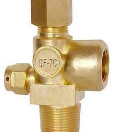 电立阀门QF-7C型针形式氧气瓶阀