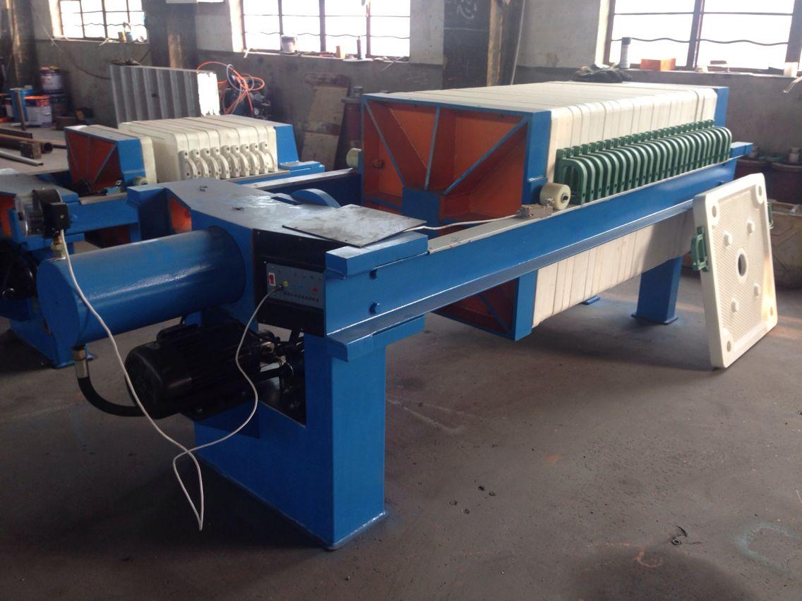 大型洗煤自动压滤机上海青上过滤设备有限公司
