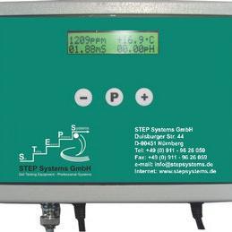 在线温度/PH/EC电导率监测仪