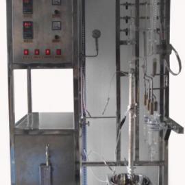 西北大学油浴玻璃精馏装置,真空系统