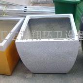 方形玻璃钢花盆-花铂厂家