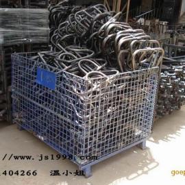 折叠式铁笼,广东铁笼,广东折叠式铁笼,车间物料周转铁笼