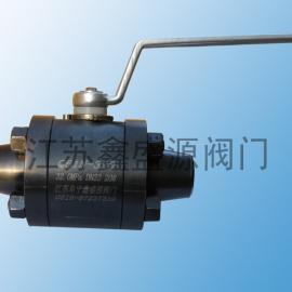 *生产供应Q61N-320P高压对焊球阀 碳钢高压球阀