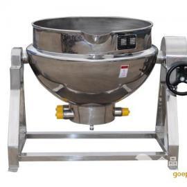 不锈钢可倾斜式搅拌夹层锅